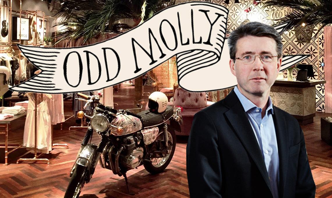 Odd Mollys e-handelsemission var het - drog in 37 miljoner