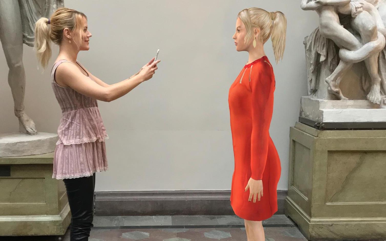 Chiquelle satsar på AR - ska låta kunderna prova kläder