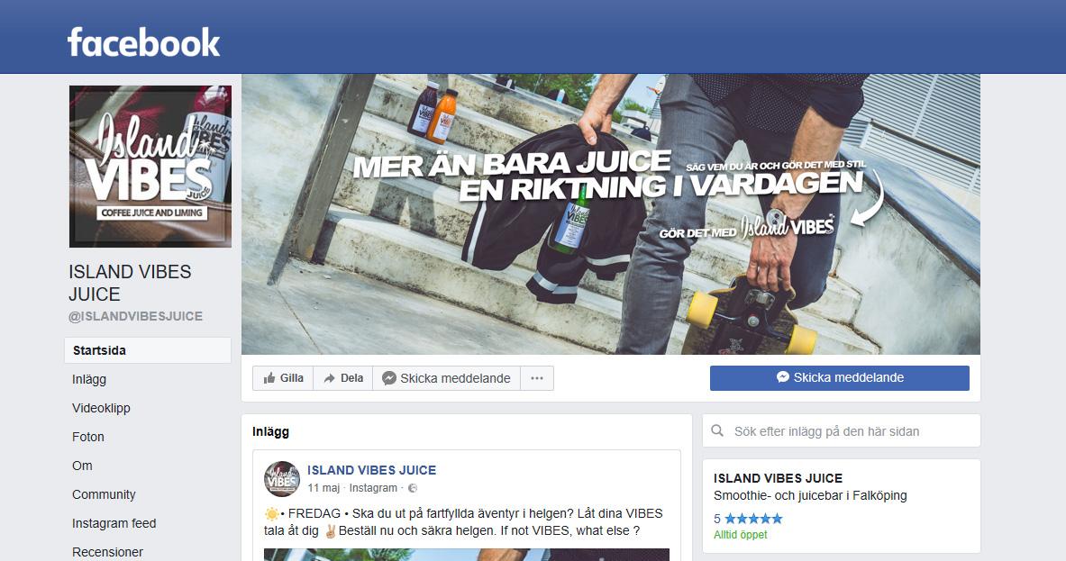 Svenskt företag fälls för omslagsbild på Facebook