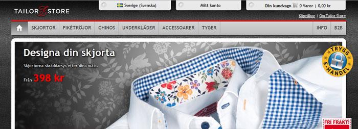 Tailor Store har stora planer för sin vinnande E-handel