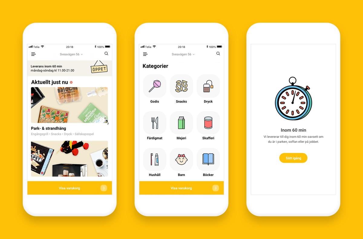 E-handlare lanserar leverans inom 60 minuter