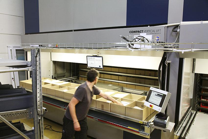 Robotlager från Gislaved infiltrerar e-handeln