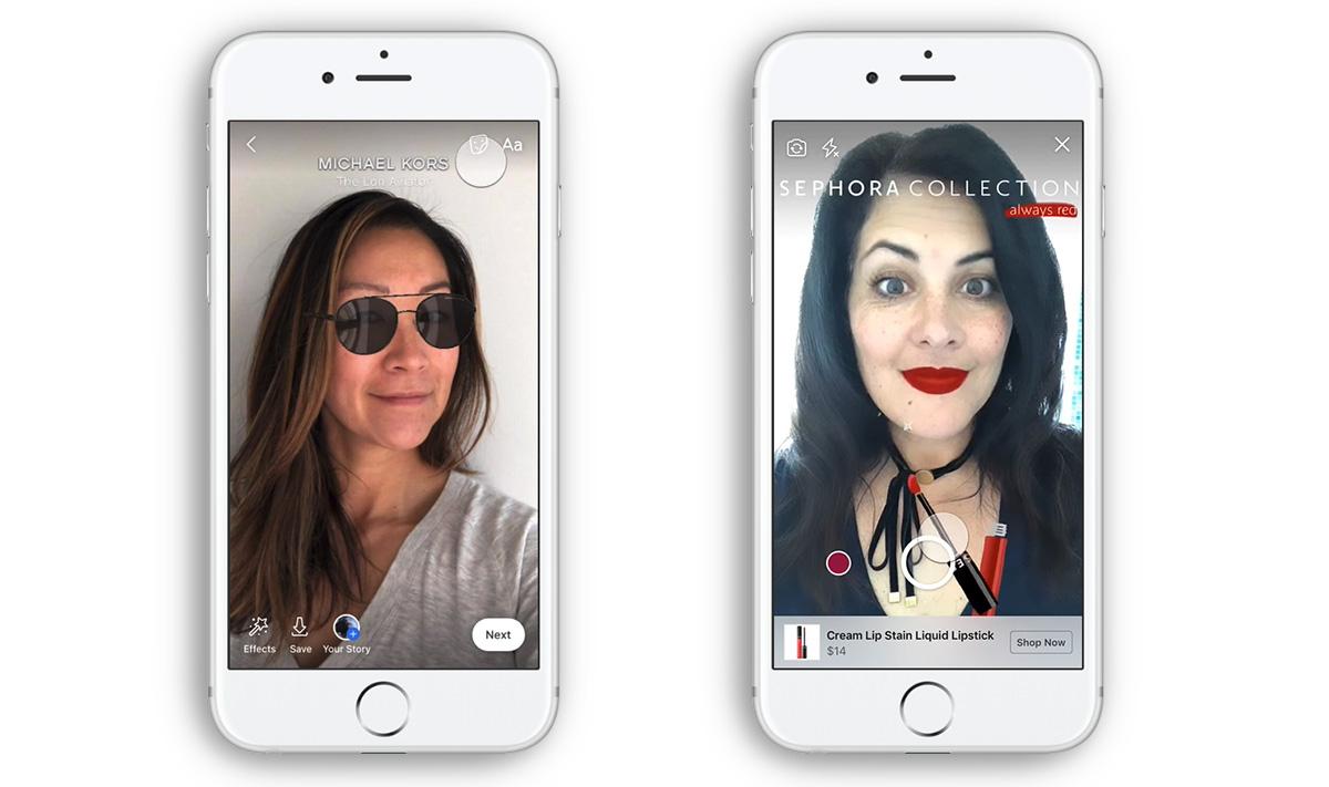 Facebook hoppar på AR-trenden med ny typ av annons