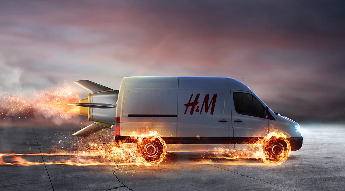 Staden som får H&M:s supersnabba leveranser