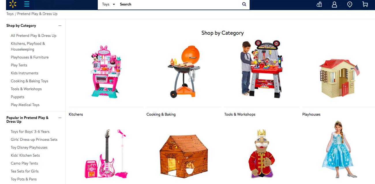 Walmart satsar på leksaker - ska fylla hålet efter Toys R Us
