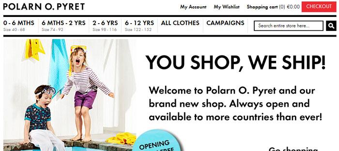 """Polarn O. Pyret tar E-handeln """"globalt"""""""