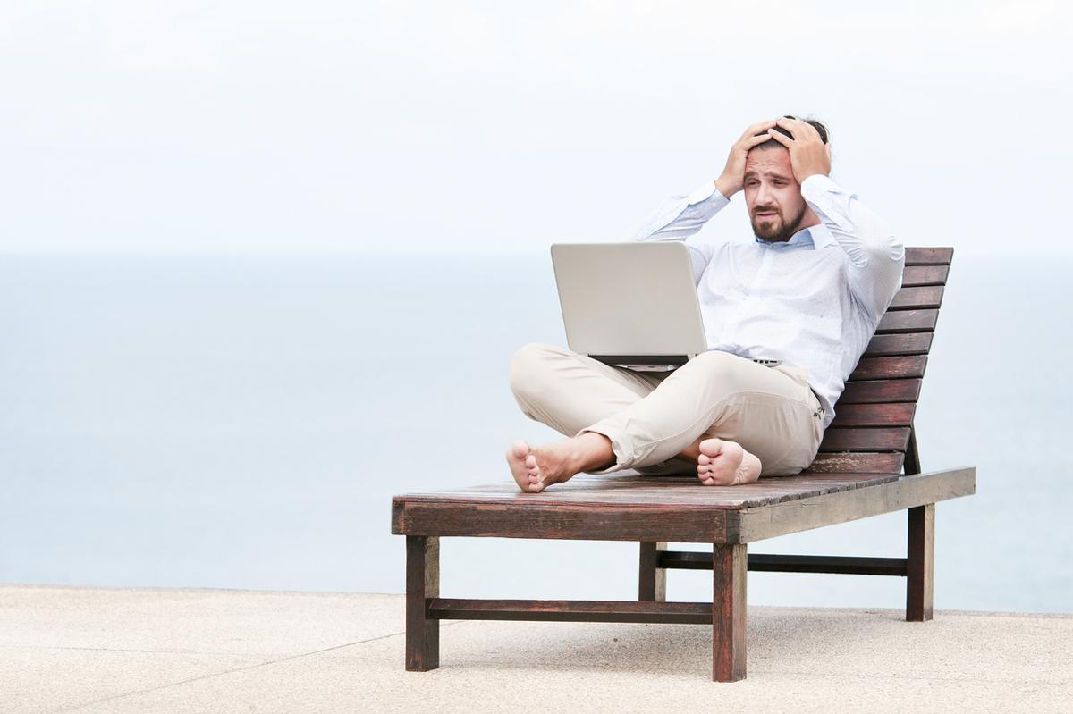E-handeln blev pessimistisk när sommarvärmen drog in