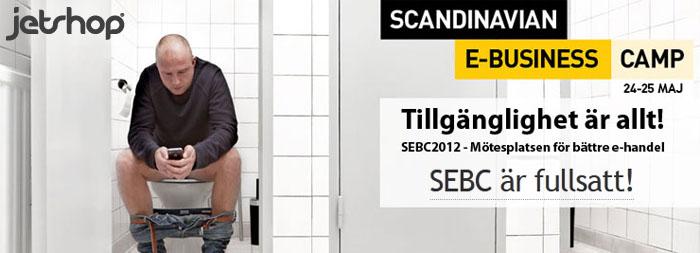 Missa inte Scandinavian e-Business Camp