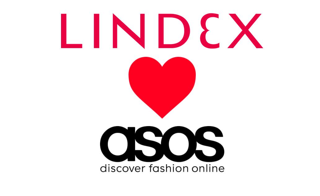 Lindex börjar sälja på ASOS