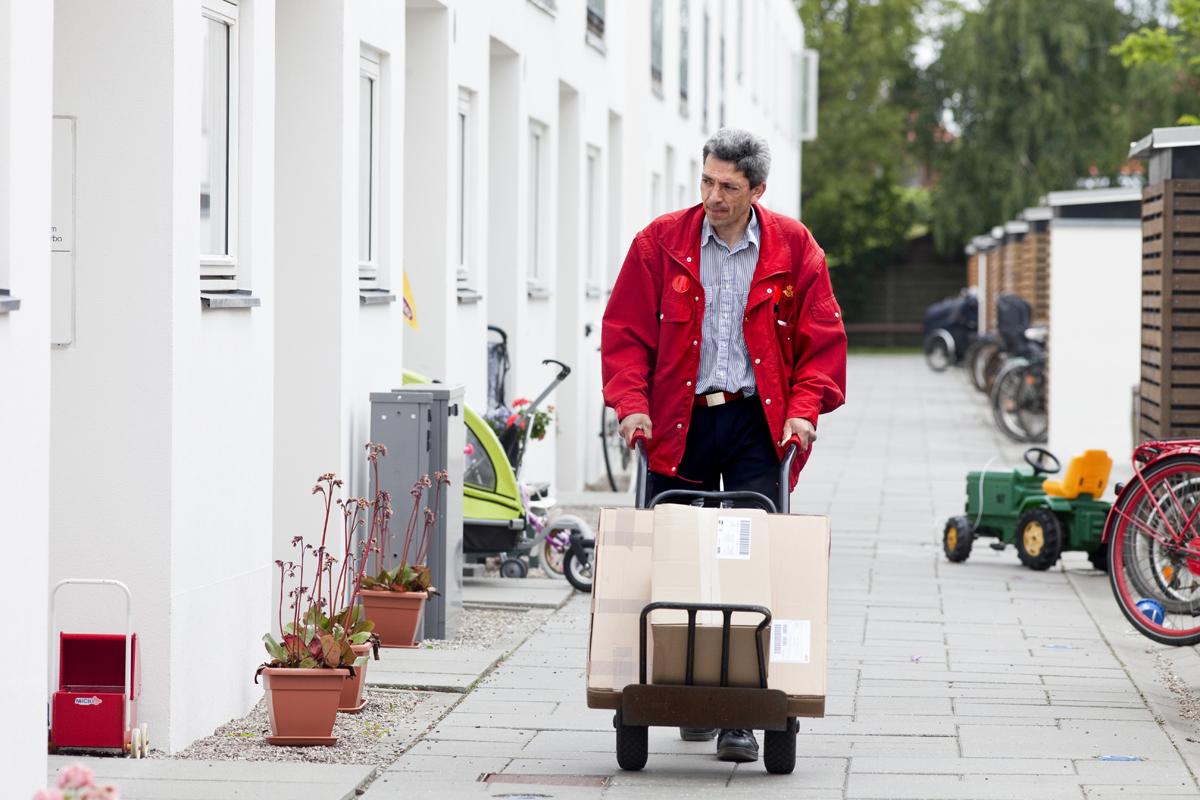 PostNords jultillägg i Danmark gäller bara frakt till Sverige