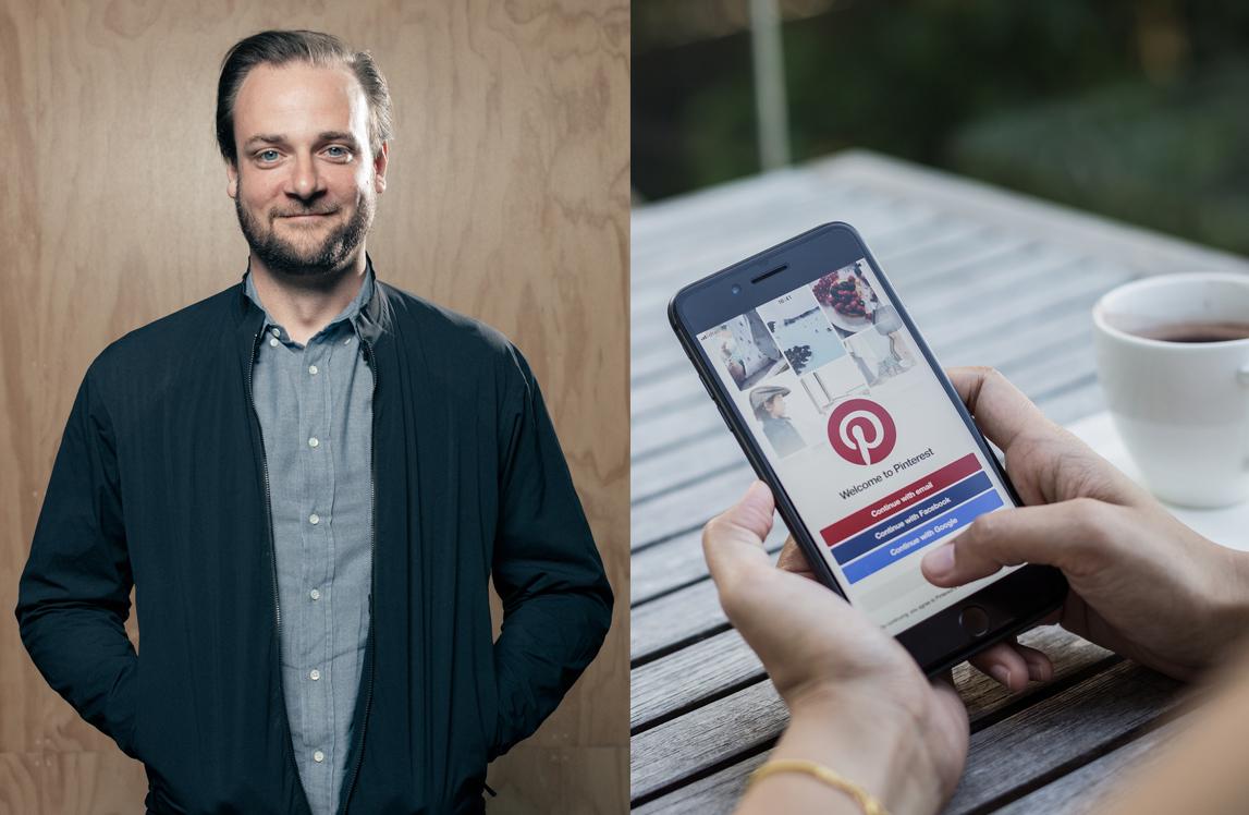 Rusning till Pinterest - 75 procent fler inlägg på 1,5 år