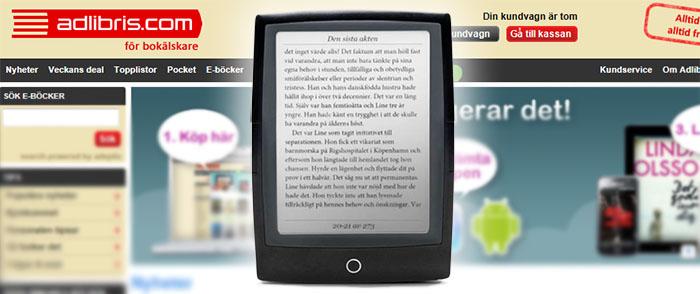 Är Adlibris nya läsplatta en svensk Kindle?