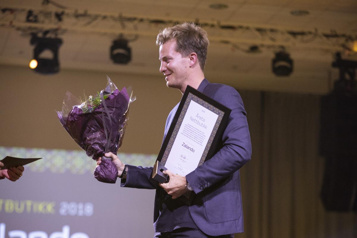 Tysk gigant blev årets nätbutik i Norge