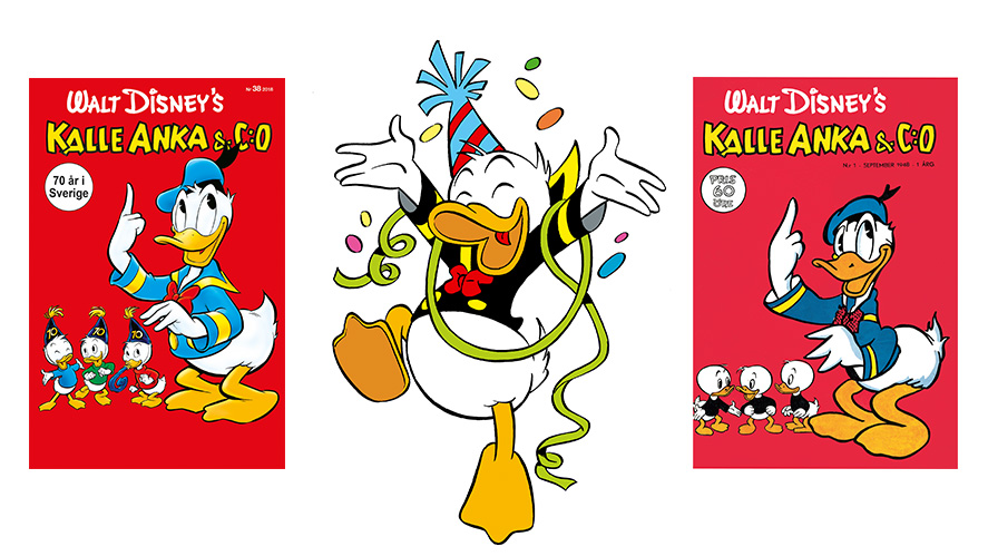 E-handeln med och firar när Kalle-tidningen fyller 70 år