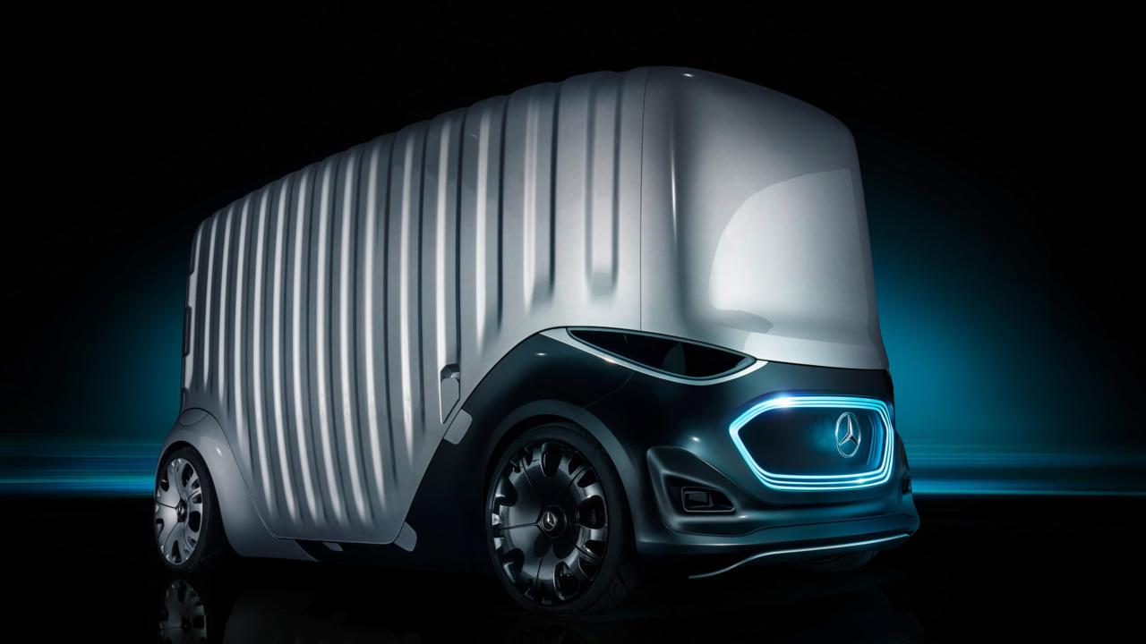 Framtidens bil kan bli ett utlämningsställe