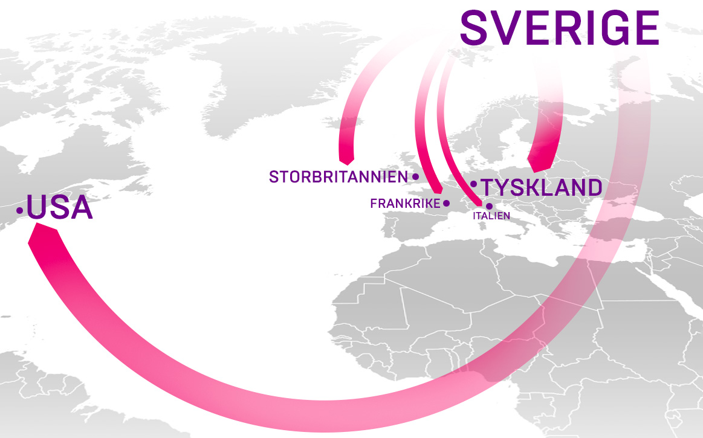 Hett med svenskt nätmode när kronan faller