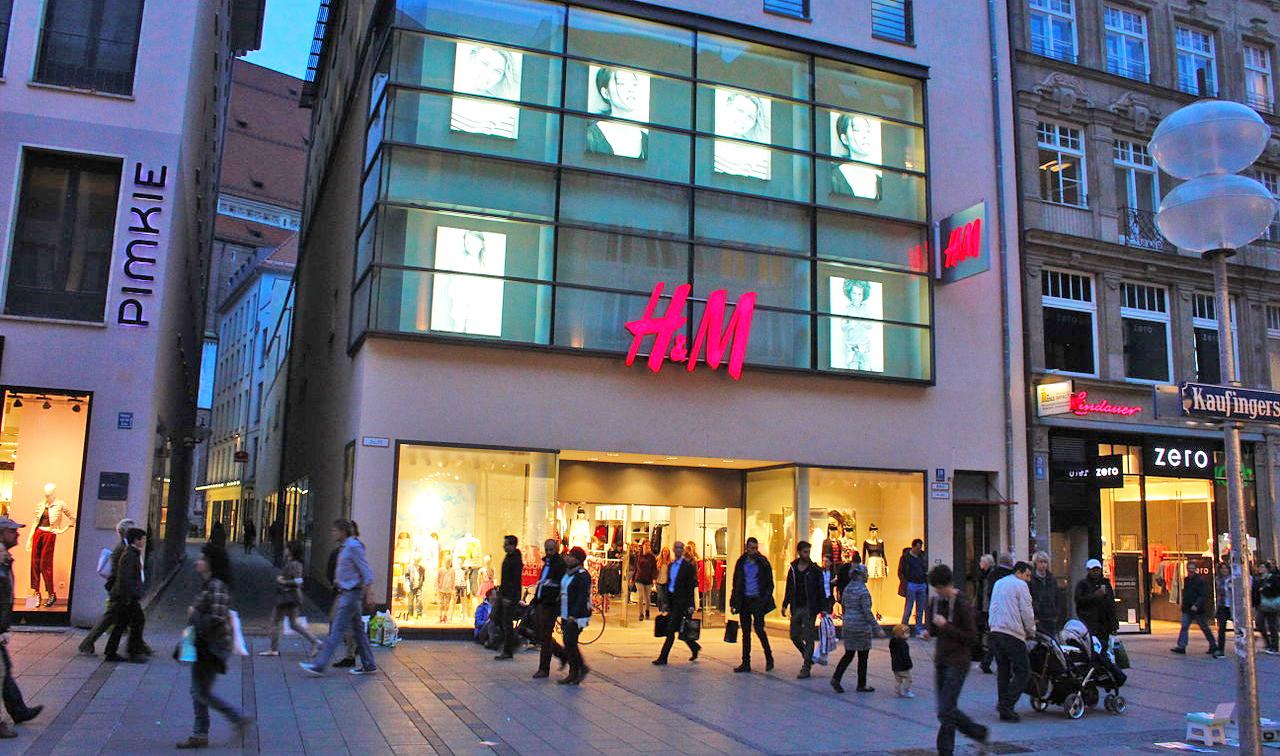 H&M kämpar på - e-handeln ökade med 30 procent