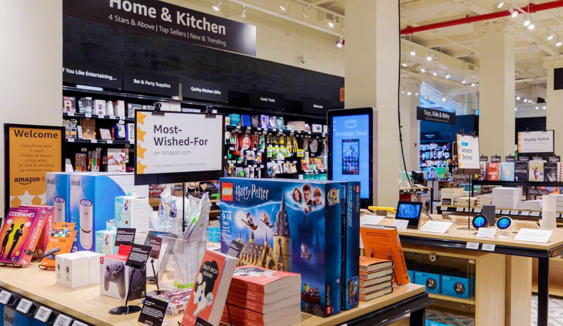 E-handelsjätten öppnar en helt ny typ av fysisk butik