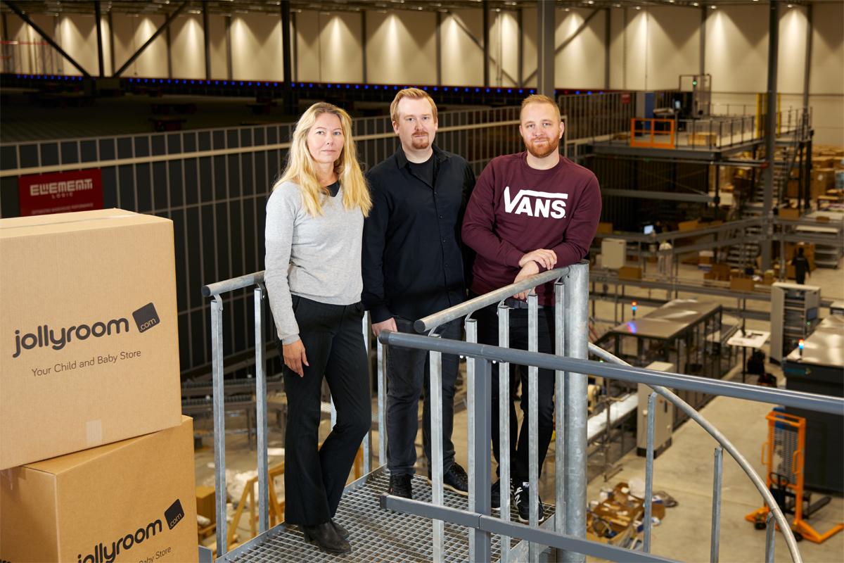"""Jollyroom köper robotar för 80 miljoner: """"Dubblar vår kapacitet"""""""