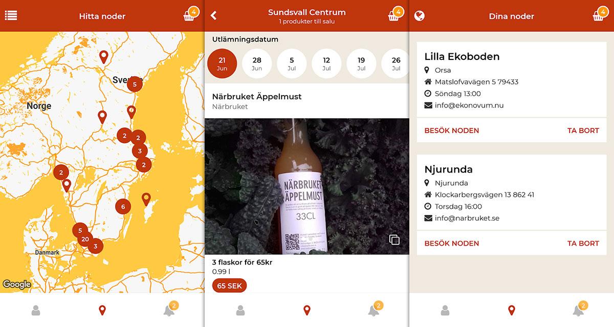Lokalproducerat ska få vingar med nya appen Local Food App