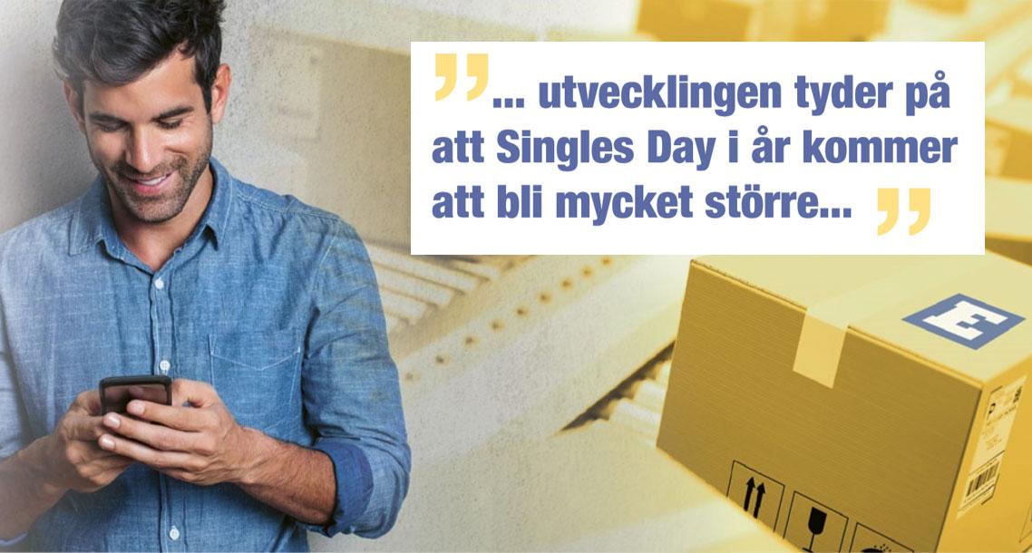 Svenska Singles Day kan få ett enormt uppsving i år