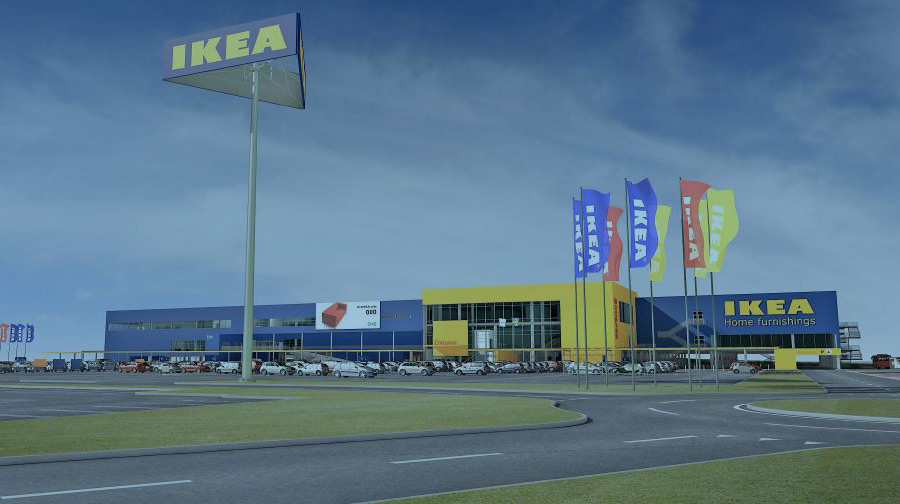 IKEA stoppar nytt varuhus på grund av e-handeln