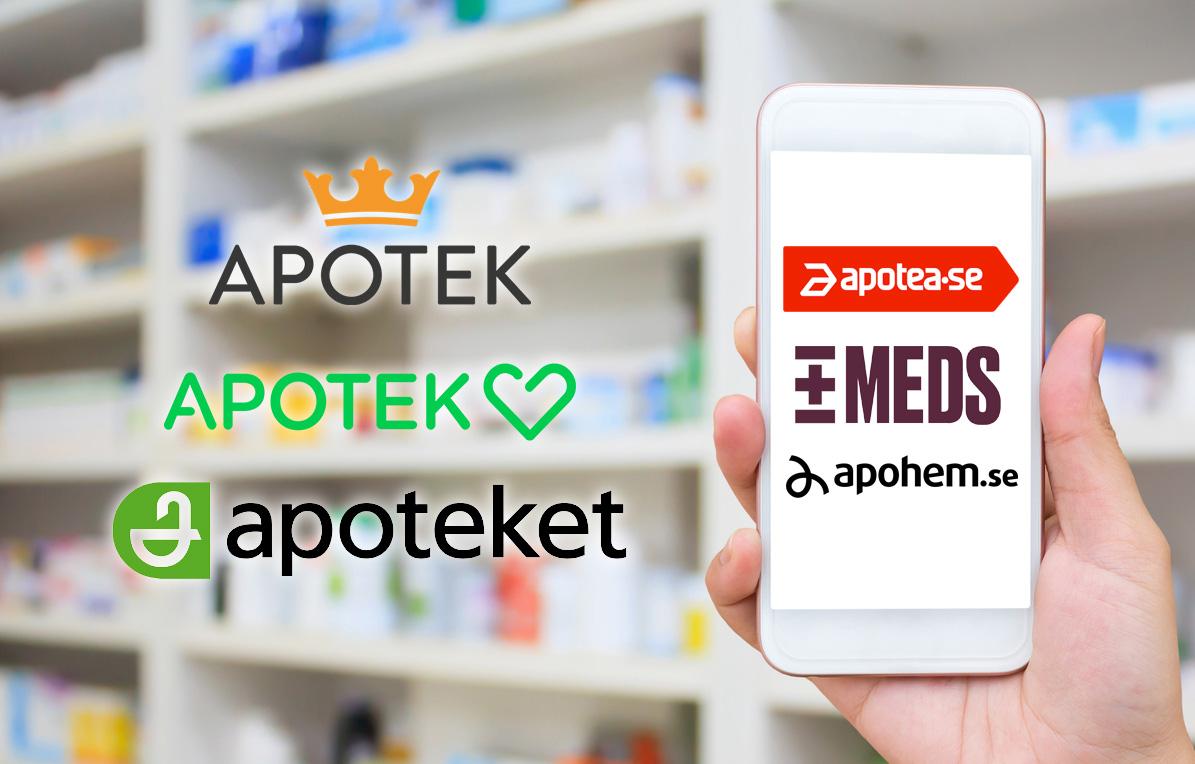 Vilka apotek vinner slaget om e-handeln?