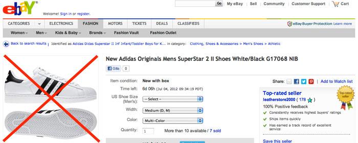 Adidas förbjuder försäljning via eBay och Amazon
