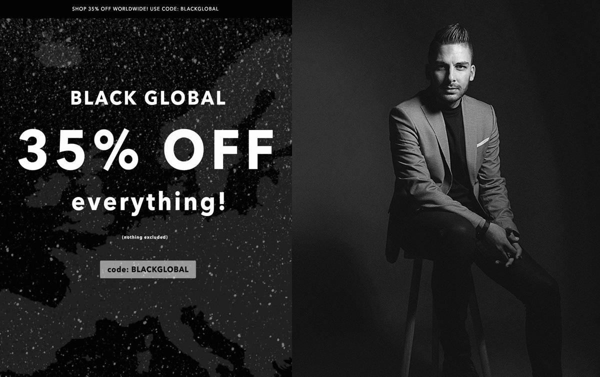 "Hoppar över ""tråkig"" Black Week - satsar på Black Global"