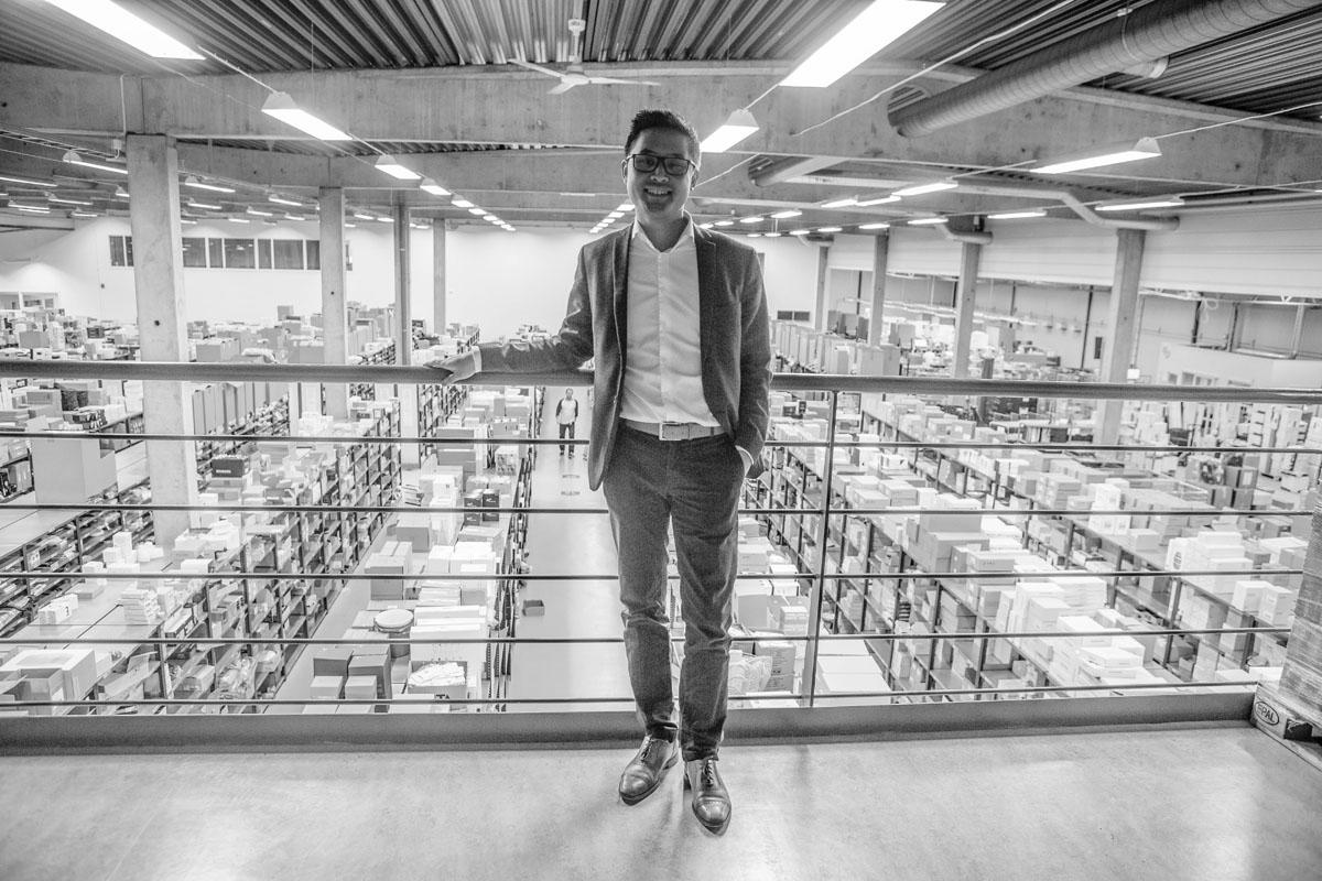 Designonline i ny flytt - bygger lager på 9500 kvadrat