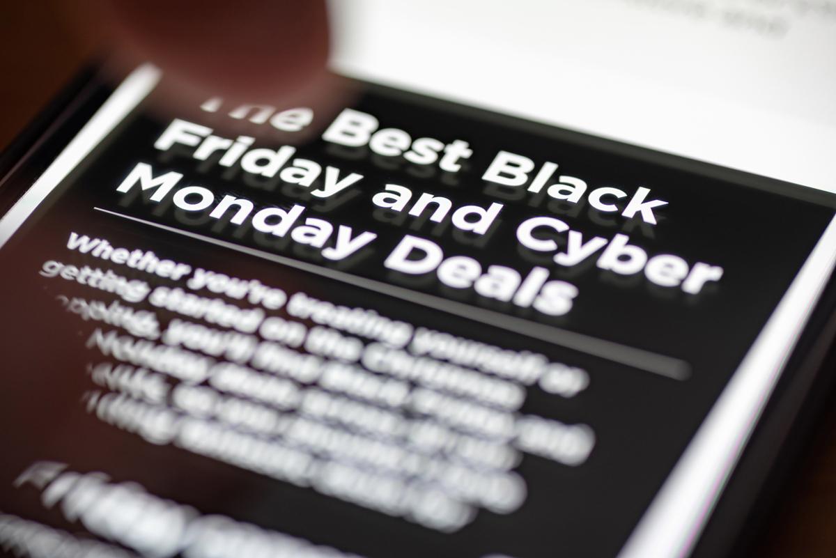 Kraftig ökning för Black Week - Cyber Monday en besvikelse