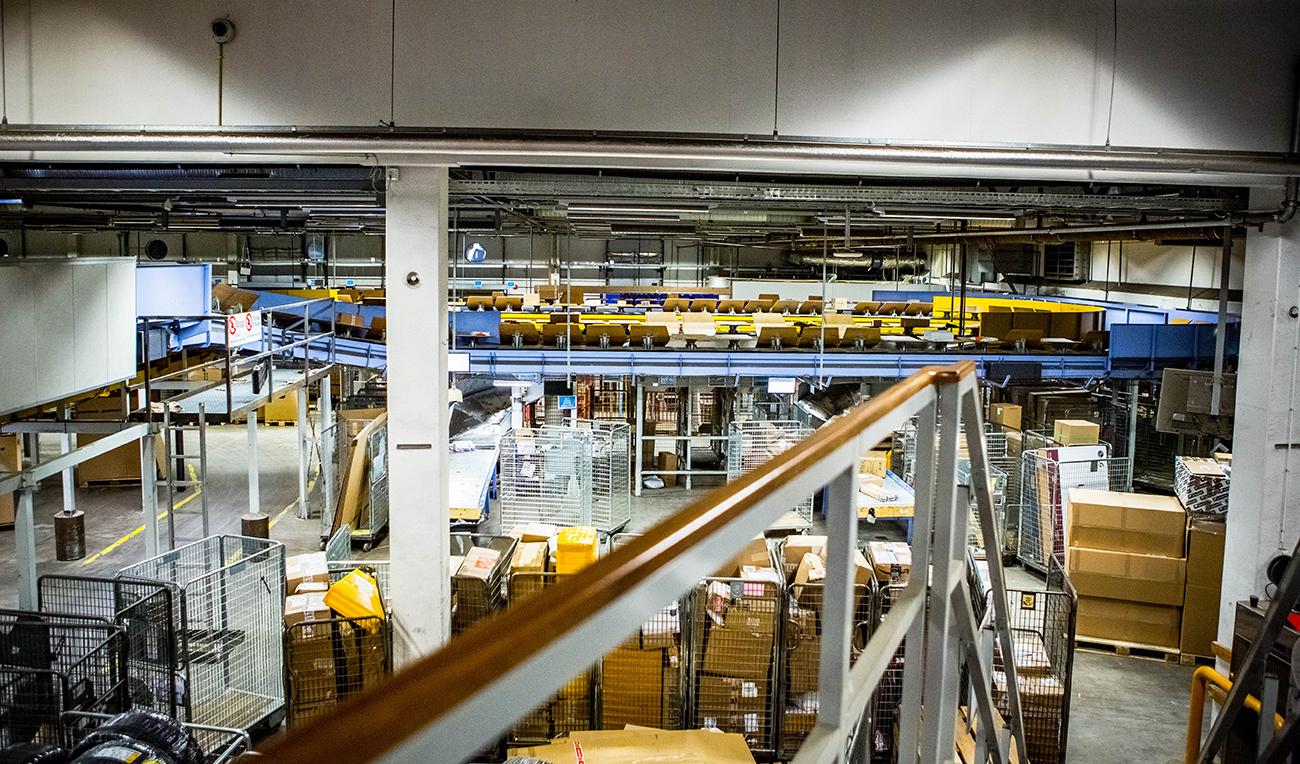 PostNord slår rekord: 2,2 miljoner paket efter Black Friday