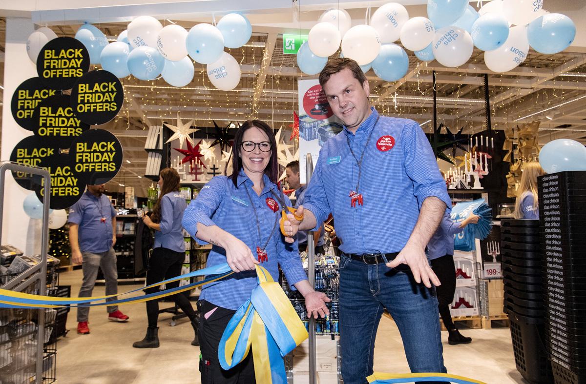 Clas Ohlson lägger ner alla sina butiker i UK och Tyskland