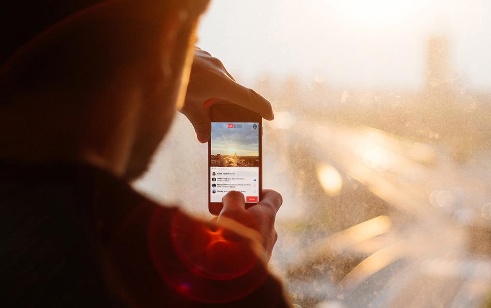 Facebook smygtestar e-handel i livesänd video