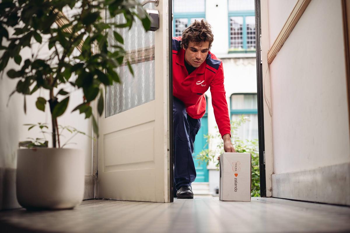Zalando testar leverans innanför dörren - 90 procent positiva