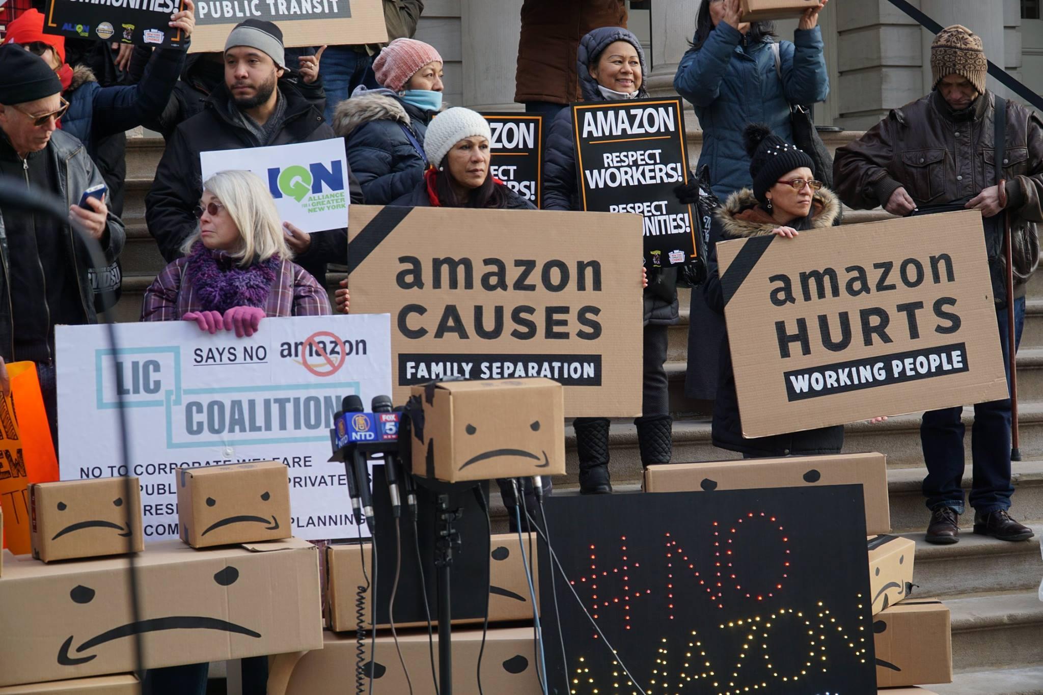 E-handelsjättens anställda har fått nog - vill bilda fackförening