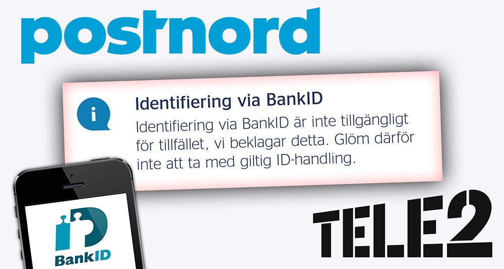 PostNords BankID-funktion avstängd efter bedrägeriförsök