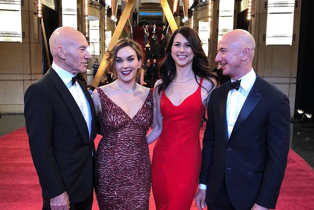 Jeff Bezos och MacKenzie Bezos skiljer sig