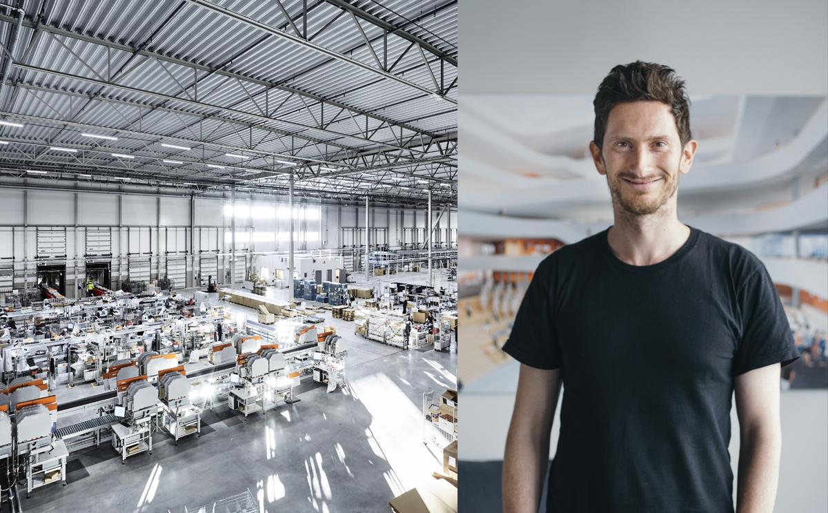 Officiell invigning av Zalandos lager i Stockholm