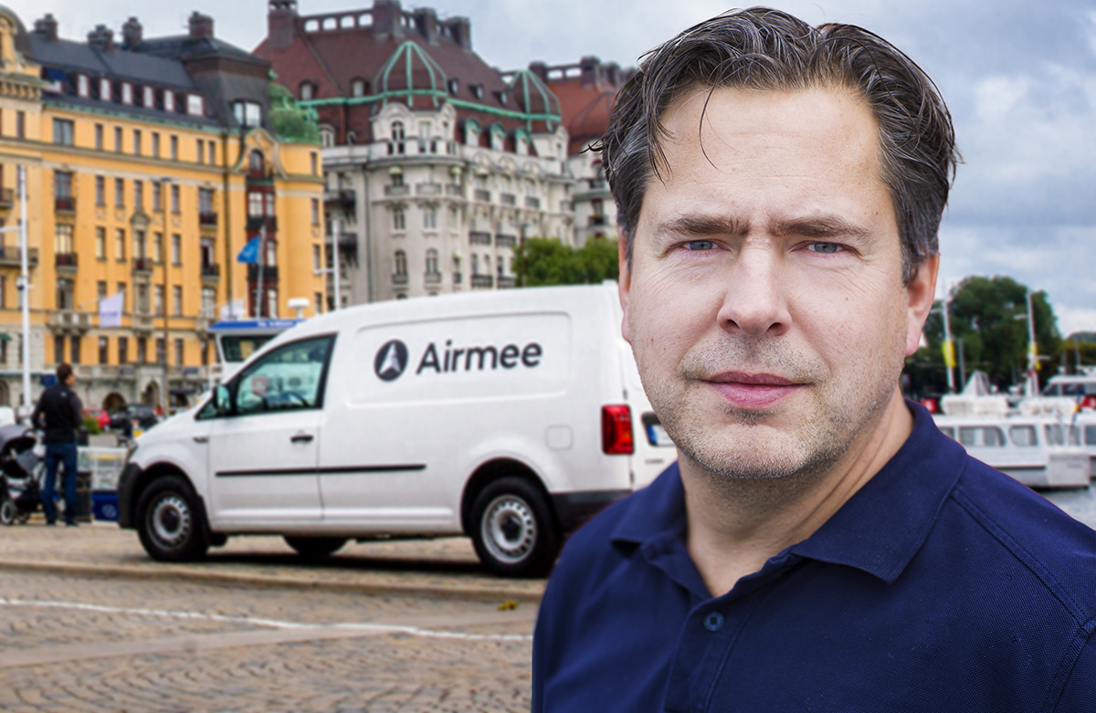 Pär Svärdson - hemlig investerare i Airmee