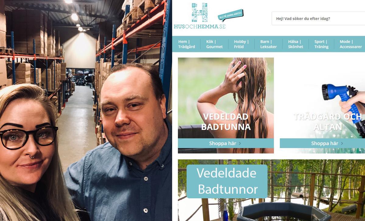 HusOchHemma öppnade tre nya butiker - nådde 17 miljoner