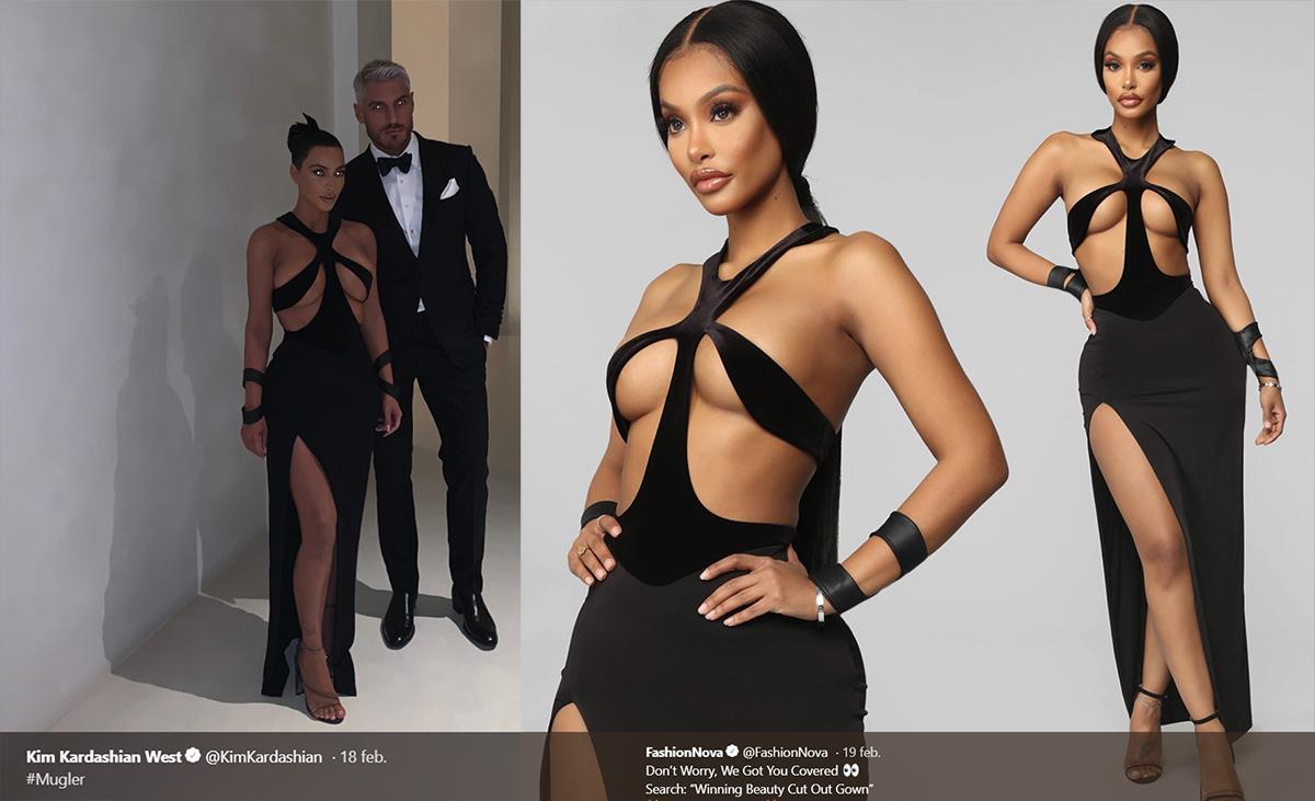 "Kim Kardashian rasar mot ""fast fashion""-sajter"