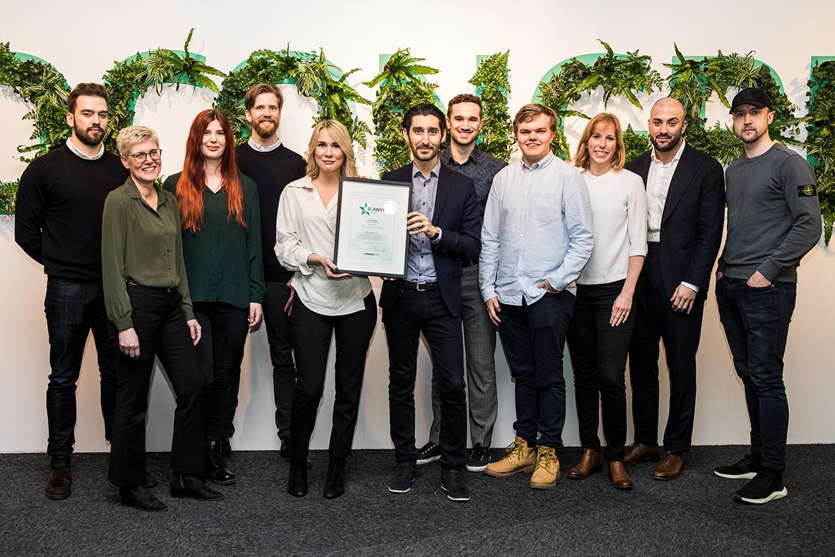 Vinnaren av Svensk Digital Handels nya pris D-Award