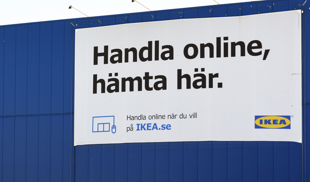 IKEA:s e-handelskoncept skrotas efter tre år
