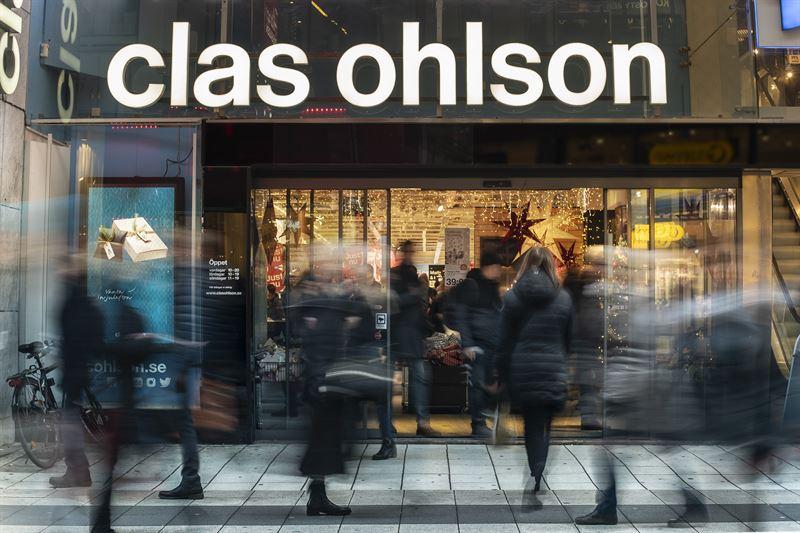 Clas Ohlson missnöjd med säljet - e-handeln ökade 51%