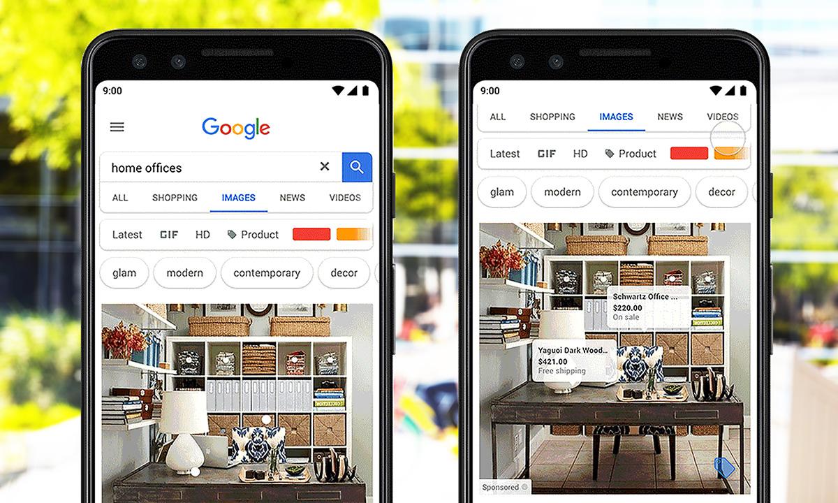 Googles stora plan: Bildsöken ska bli en e-handel