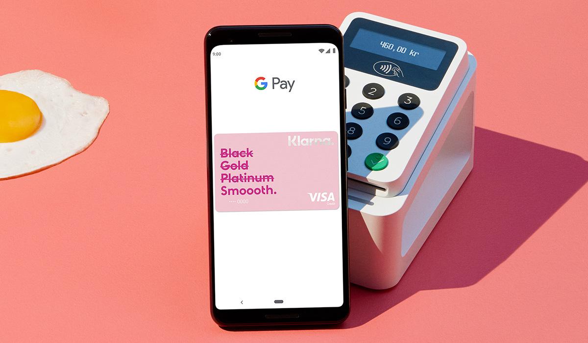 Klarna erbjuder från och med idag Google Pay