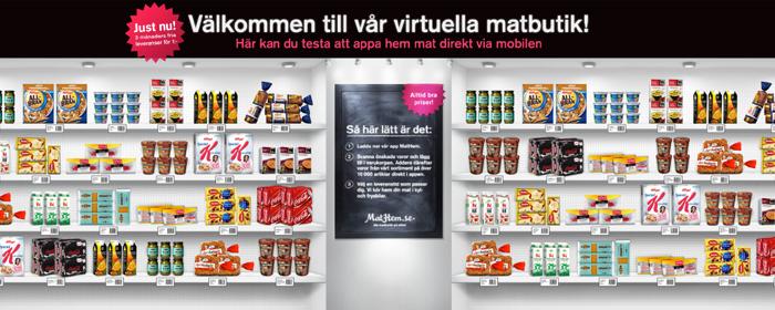 MatHem tar den virtuella matbutiken till Sverige