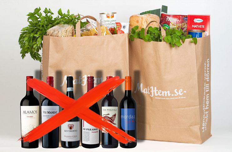 Inget mer vin till maten - Winefinder lämnar Mathem