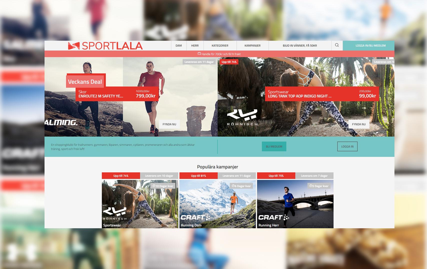 Outletklubben nylanserar sin sajt - igen